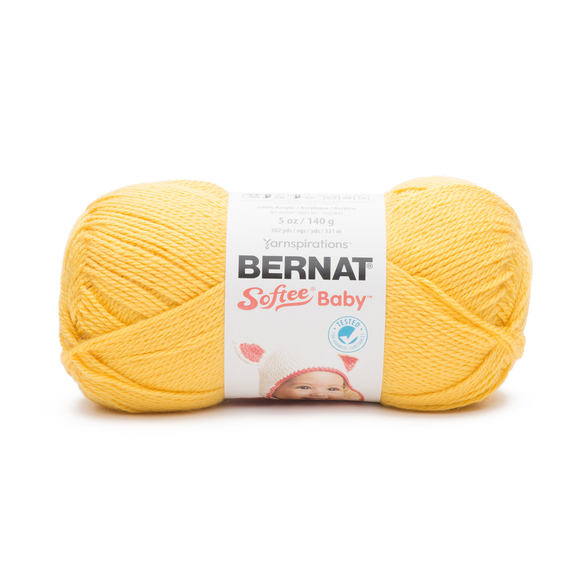 Bernat Softee Baby Yarn Buttercup Yarnspirations