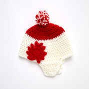 Go to Product: Red Heart Maple Leaf Earflap Hat, S in color