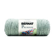 Bernat Premium Yarn, Soft Gray Heather
