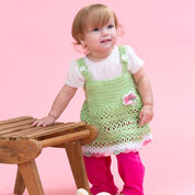 Go to Product: Red Heart Peapod Baby Sundress, 6 mos in color