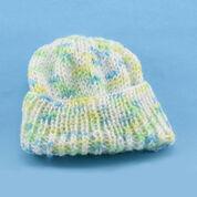Red Heart Crochet & Knit Newborn Caps,