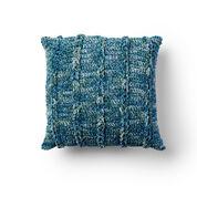 Bernat Braidy Bunch Crochet Pillow