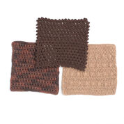 Bernat Thankful Thursday Dishcloths, Arruga Stitch