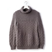 Go to Product: Bernat Texture Mix Knit Tunic, XS/S in color