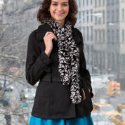 Go to Product: Red Heart Warm Ruffle Scarf in color