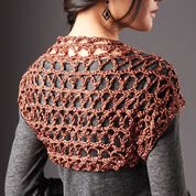 Go to Product: Patons Touch of Shine Shrug, XS/S in color