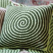 Caron Vortex Afghan & Pillows, Afghan