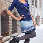 Go to Product: Red Heart Diva Denim Remix Skirt in color