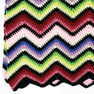 Red Heart Crochet Rainbow Ripple Afghan in color