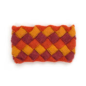 Go to Product: Caron Cakes Entrelac Knit Cowl in color