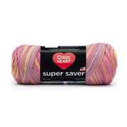 Go to Product: Red Heart Super Saver Yarn in color Melonberry