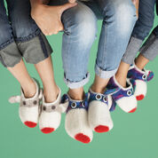 Go to Product: Patons Monkey Felted Slippers, S in color