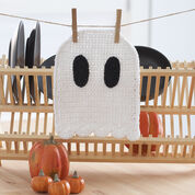 Lily Sugar'n Cream Ghost Dishcloth