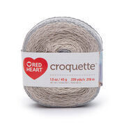 Go to Product: Red Heart Croquette Yarn in color Stonehenge
