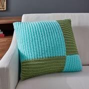 Red Heart Modern Knit Pillow
