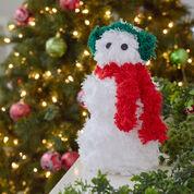 Red Heart Friendly Snowman