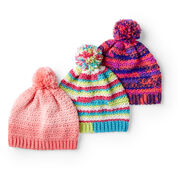 Go to Product: Red Heart Crochet Fair Isle Hat, S in color