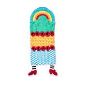 Bernat Over the Rainbow Crochet Snuggle Sack