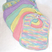 Go to Product: Bernat Knit Bibs and Booties in color