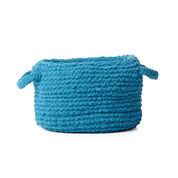 Bernat Garter Knit Basket