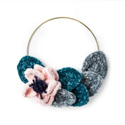 Go to Product: Bernat Floral Wreath Crochet Party Favor in color