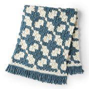 Go to Product: Bernat C2C Crochet Lattice Blanket in color