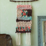 Red Heart Retro Crochet Wall Hangings