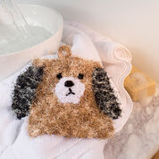 Red Heart Puppy Scrubby