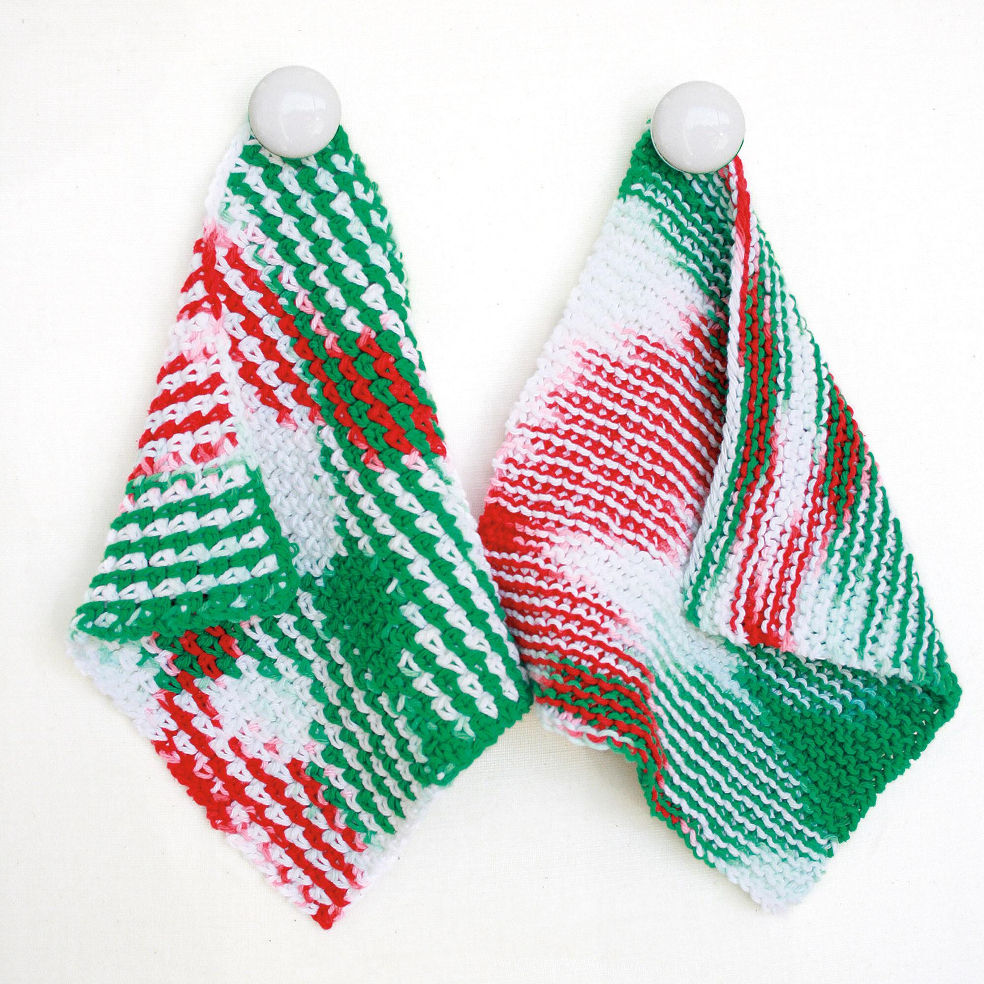 Bernat Dishcloth, Knit | Yarnspirations