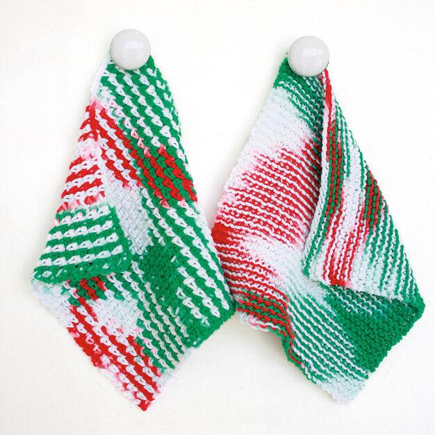 Bernat Dishcloth, Knit