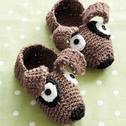 Go to Product: Phentex Puppy Slippers, Size 5-6 in color