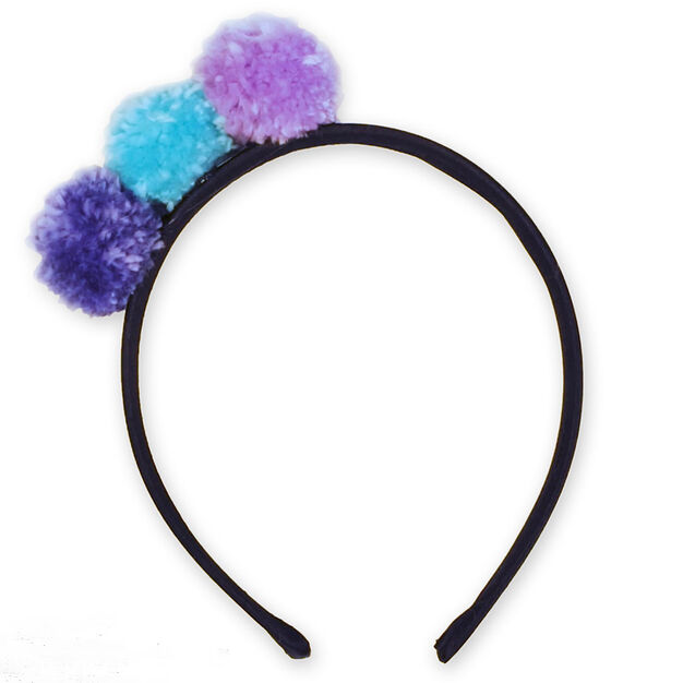 Caron Pompom Party Headband