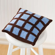 Go to Product: Red Heart Crochet Two-Color Pillow in color