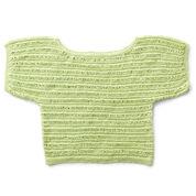 Patons Drop Stitch Knit Top, XS