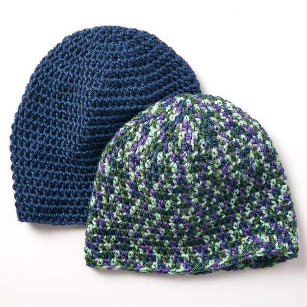 Caron Beginner Beanie in color