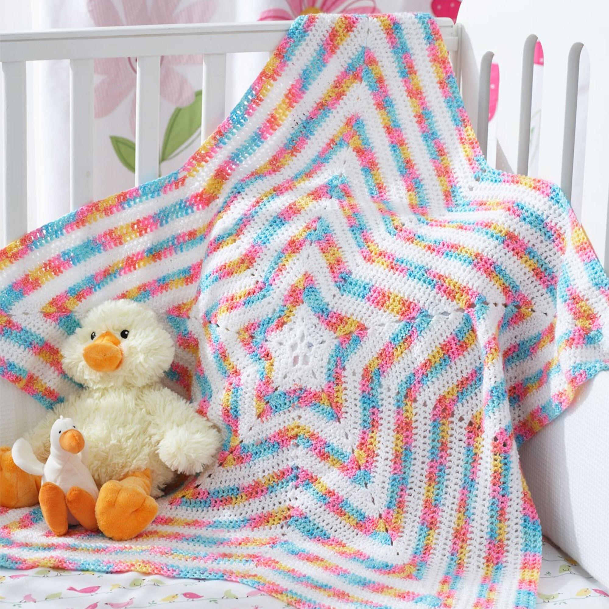 Bernat Star Blanket | Yarnspirations