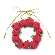 Lily Sugar'n Cream Apple Wreath