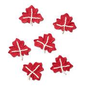 Bernat Maple Leaf Knit Applique
