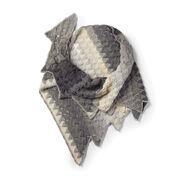 Caron Crochet Sawtooth Shawl