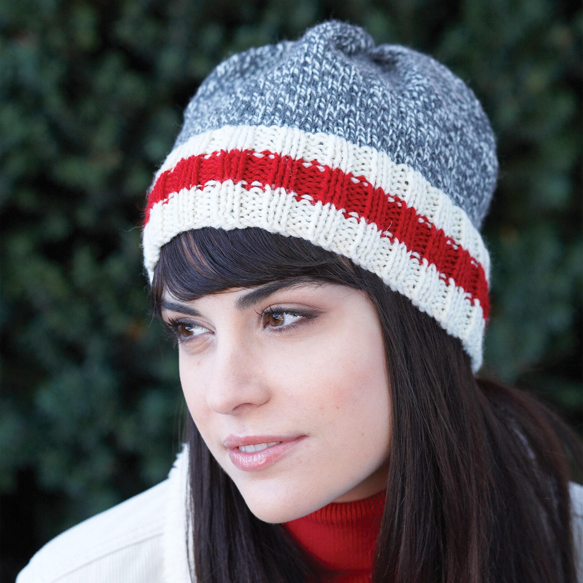 Patons Work Sock Hat, Women | Yarnspirations