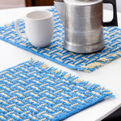 Go to Product: Red Heart Mosaic Basketweave Placemat in color