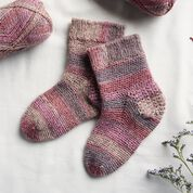 Go to Product: Patons Slip Stitch Cuff Crochet Socks, S in color