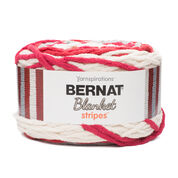 Go to Product: Bernat Blanket Stripes Yarn (300g/10.5 oz) in color Red Alert