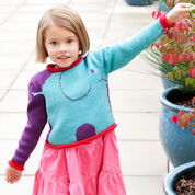 Red Heart Snuffle Pullover, 2 yrs