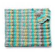 Caron Cakes Wavy Crochet Afghan