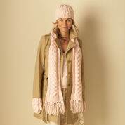 Go to Product: Bernat Cable Hat, Scarf and Mittens, Mittens in color
