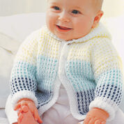 Go to Product: Patons Hooded Cardigan, 0-6 mos in color