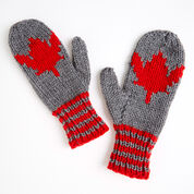 Go to Product: Red Heart Maple Leaf Mittens, Child in color