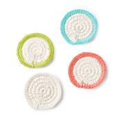 Go to Product: Lily Sugar'n Cream Mock-Rame Crochet Coasters Set in color