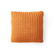 Bernat Down The Line Knit Pillow